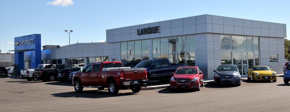 Ontario Chevrolet Dealers Lanoue Chevrolet Near Windsor